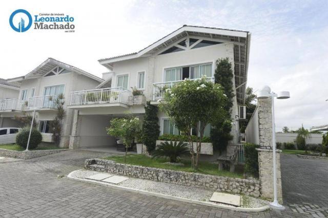 Casa com 4 dormitórios à venda, 335 m² por R$ 1.390.000 - Cambeba - Fortaleza/CE