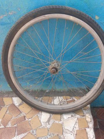Pneu bike com aro 20 completo entregar com taxas - Foto 3