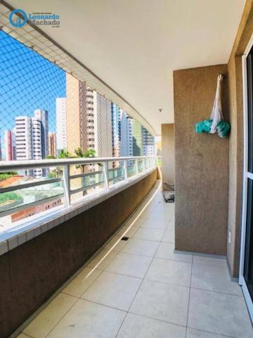 Apartamento com 3 dormitórios à venda, 115 m² por R$ 585.000 - Cocó - Fortaleza/CE - Foto 10