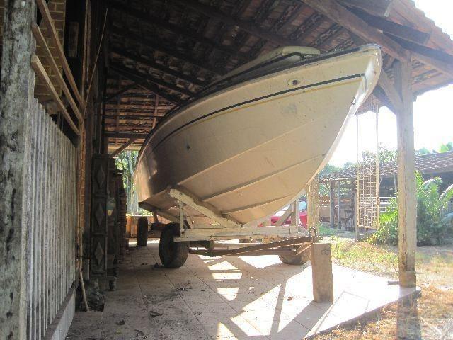 Casco lancha Magnum Offshore 29 pés sem motor sem rabeta documentada - Foto 12