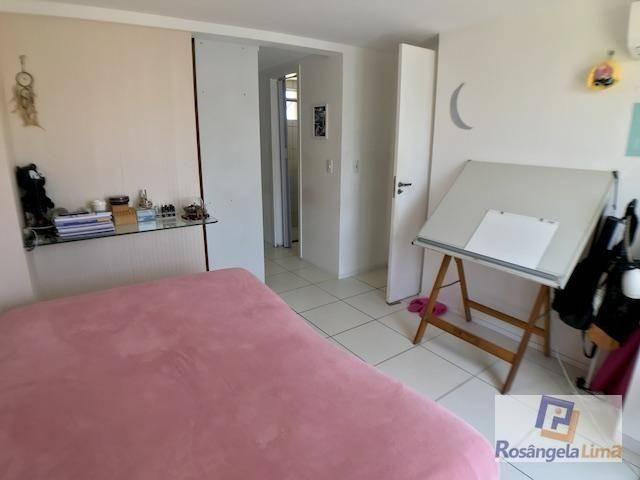 Apartamento com 2 suítes, sendo uma com closet à venda, por r$ 295.000 - cambeba - fortale - Foto 2