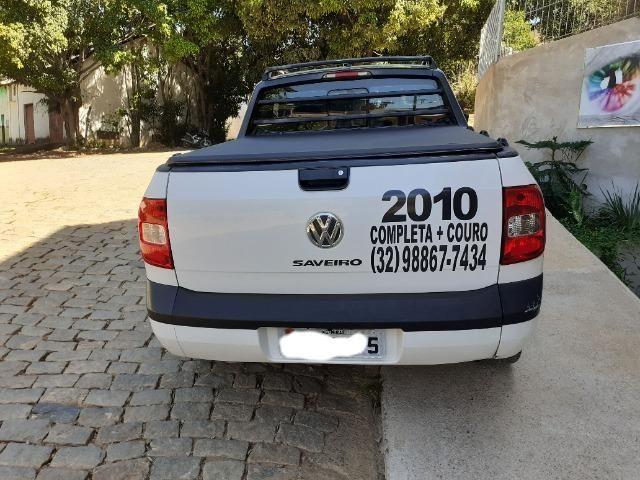 Saveiro Trooper CE 2010 - Completa + Couro e Central Multimídia - Foto 9