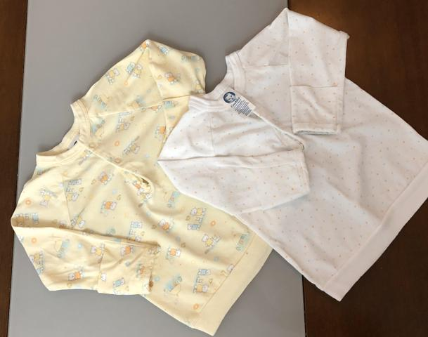 Combo de roupinha bebê menina 1-6 meses