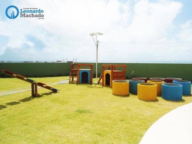 Apartamento com 3 dormitórios à venda, 78 m² por R$ 510.000 - Praia do Futuro - Fortaleza/ - Foto 12