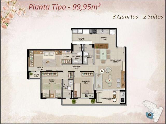 Apartamento Novo na melhor Localização do Cambeba - Foto 6
