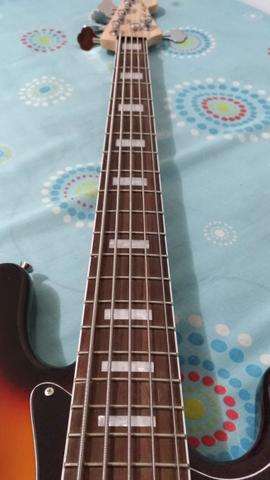 Fender jazz Bass ativo 5c - Foto 5