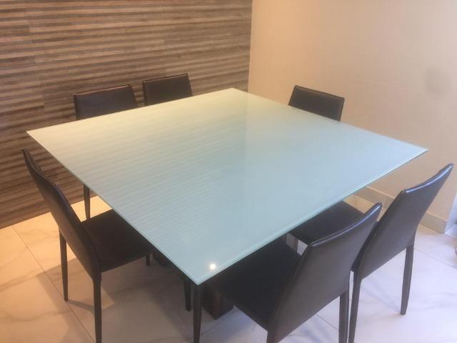 Envelopamento em mesas de vidro em ipatinga - Foto 5