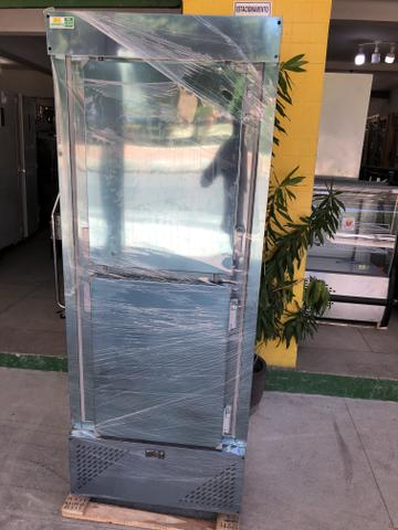 Geladeira comercial toda em inox - para restaurantes com 2 porta r$ 3.799,00 - Foto 2