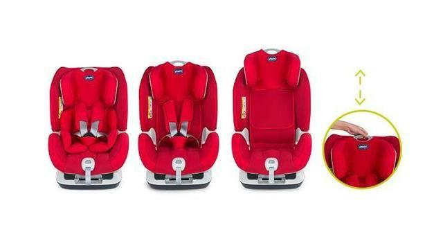 3aa942e62 Cadeirinha Carro Chicco Isofix Seat Up 012 0-25 Kg Vermelha NOVA ...