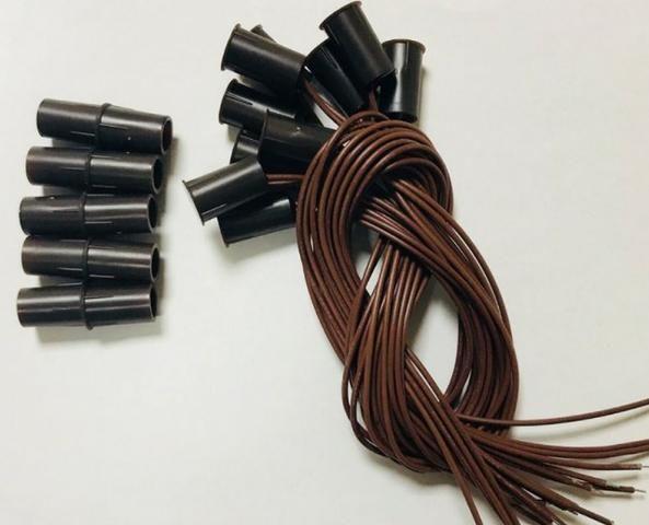 COD-CP233 Kit 2Pares Sensor Magnético Com Fio Alarme Portas E Janelas Arduino Automaçã - Foto 4