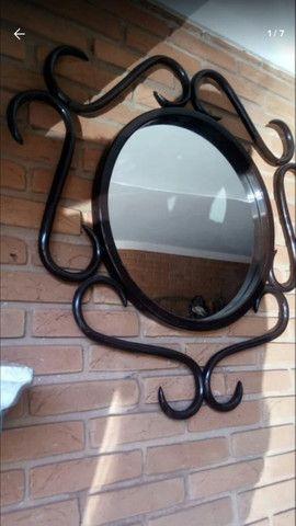 Espelho Antigo Thonet - Foto 3