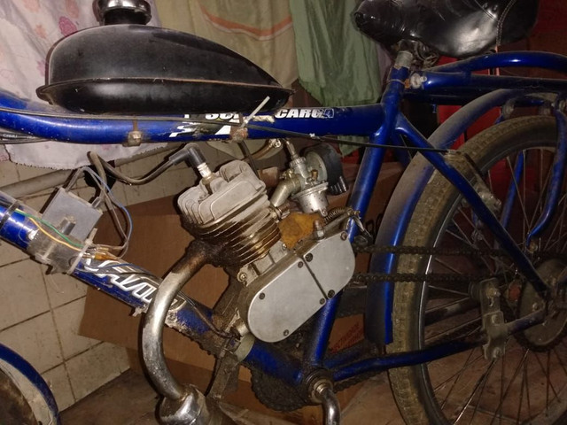 Bicicleta motorizada com a nota  - Foto 3