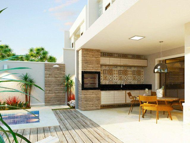 Vendo casa alto padrão em rua privativa no Eusébio. 180 m² com 4 suítes - Foto 5