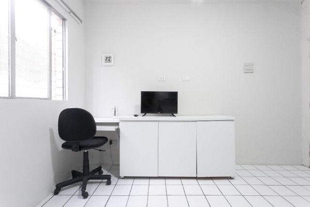 Apartamento 03B, mobiliado, sala e quarto, com WI-FI, pertinho do Carrefour - lindo