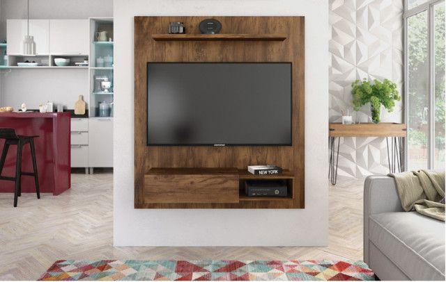 Painel TV até 50 polegadas Dilleto - NOVO - Foto 2
