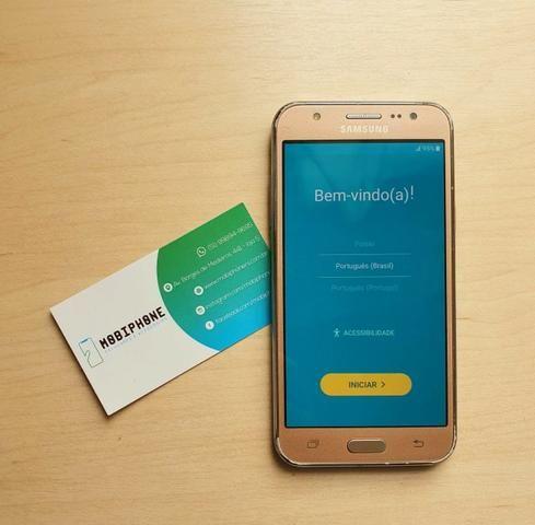 Samsung Galaxy J5 Dourado, com garantia e nota fiscal, Semi novo