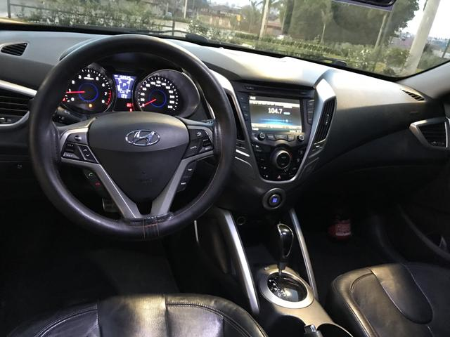 Hyundai Veloster o mais top aceito trocas menor valor - Foto 13