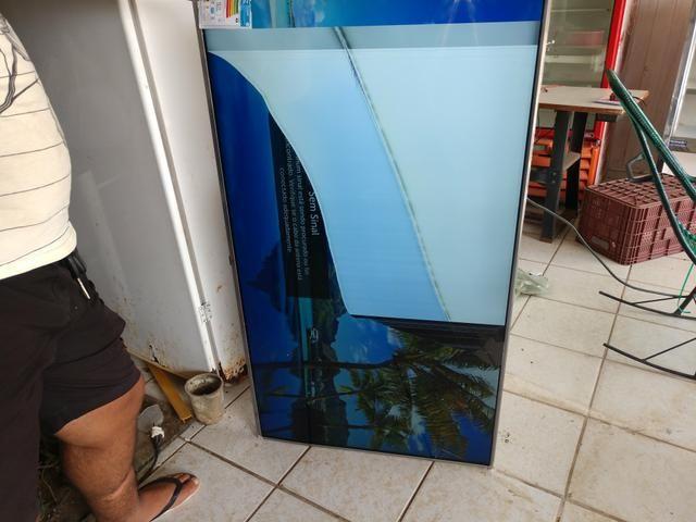 Vendo tv 55 polegadas tela trincada - Foto 3