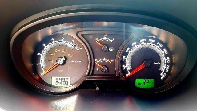 Ford ecosport xlt freestyle motor 1.6 8v flex 4p prata 2012 74.000km ipva2020pgvist - Foto 12
