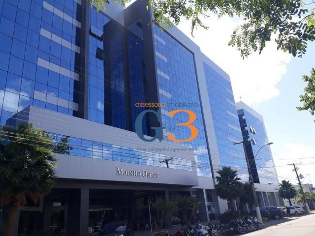 Sala para alugar, 48 m² por r$ 1.800,00/mês - três vendas - pelotas/rs