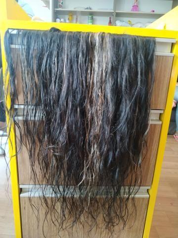 Vendo cabelo humano duas tela