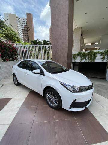 Toyota Corolla Gli Upper 2018 baixa km IPVA 2020 PAGO! - Foto 3