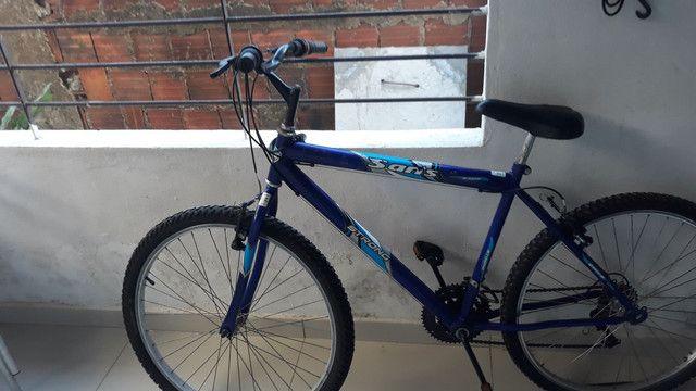 Vendo uma ótima bike - Foto 6