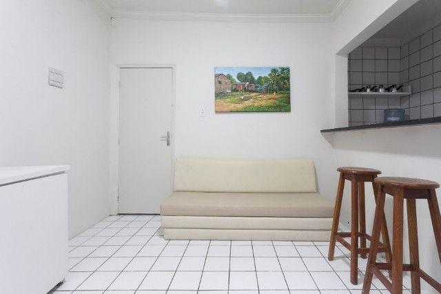 Apartamento 03B, mobiliado, sala e quarto, com WI-FI, pertinho do Carrefour - lindo - Foto 8