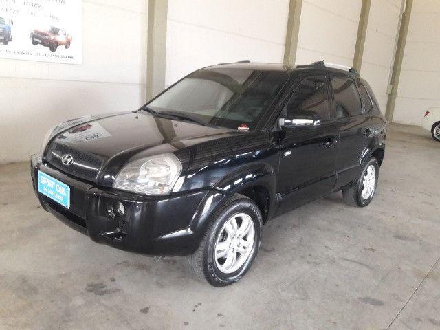 Hyundai tucson gls 2.7 v6 4x4 ano 2007 -automatica - valor: 29.999,99