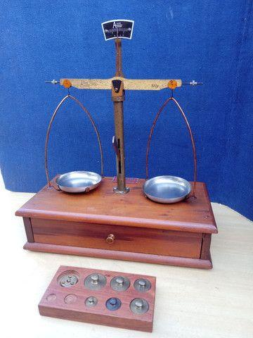 Balança de precisão antiga - Foto 4