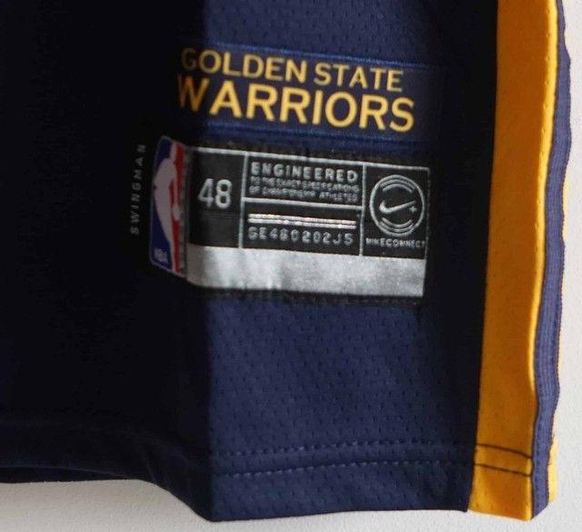 Camisa de basquete Golden State Warriors - Foto 4
