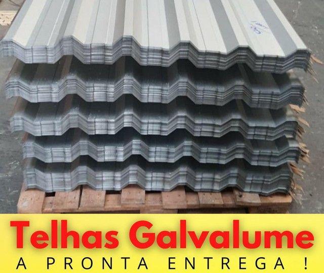 TELHA GALVALUME 6,00x1,00 EM PROMOÇÃO  - Foto 3