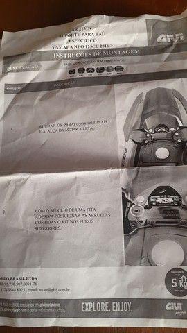 Suporte original Yamaha  novo scooter NEO 2021 - Foto 2