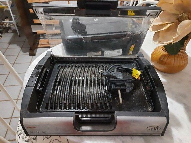 Churrasqueira Elétrica(Preço Negociável) - Foto 3