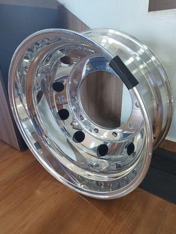 Roda de Alumínio Ital R22,5 e R17,5 - Produto Novo - Foto 4