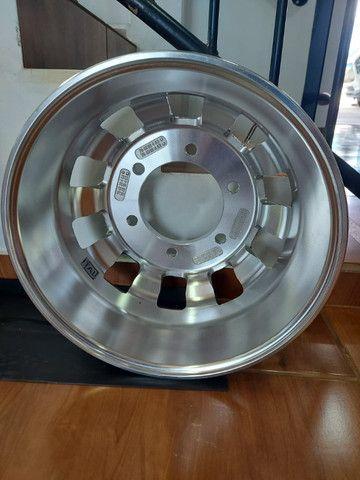 Roda de Alumínio Ital R22,5 e R17,5 - Produto Novo - Foto 8