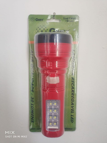 Lanterna recarregável Gimex GX-29278