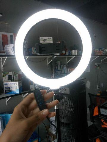 Ring Light com tripé  - Foto 3