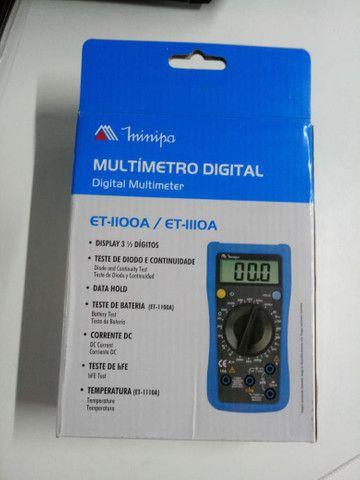 Multimetro Digital Minipa  - Foto 2