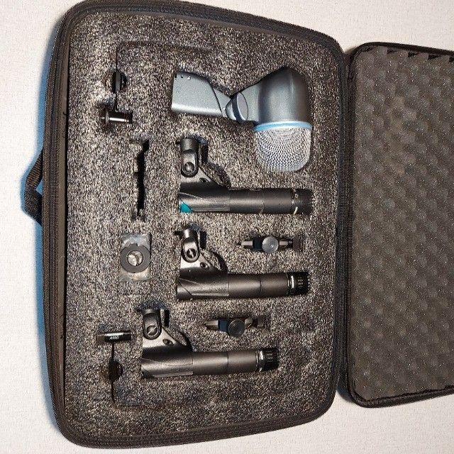 Kit de bateria Shure dmk52-57 Completo