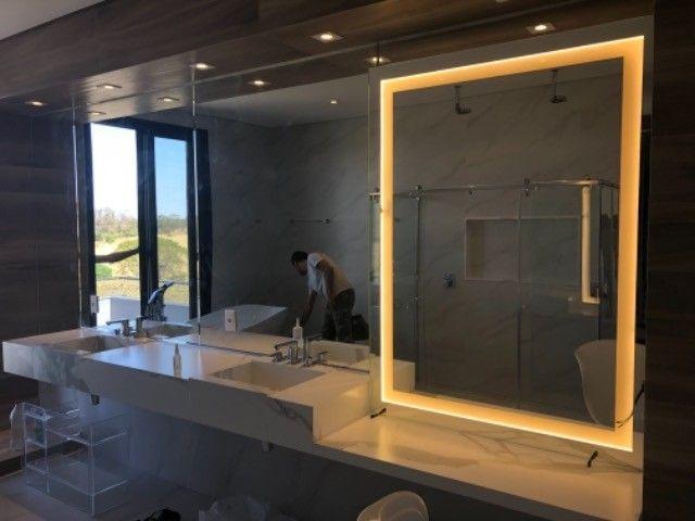 Espelho box de banheiro vidro temperado em geral