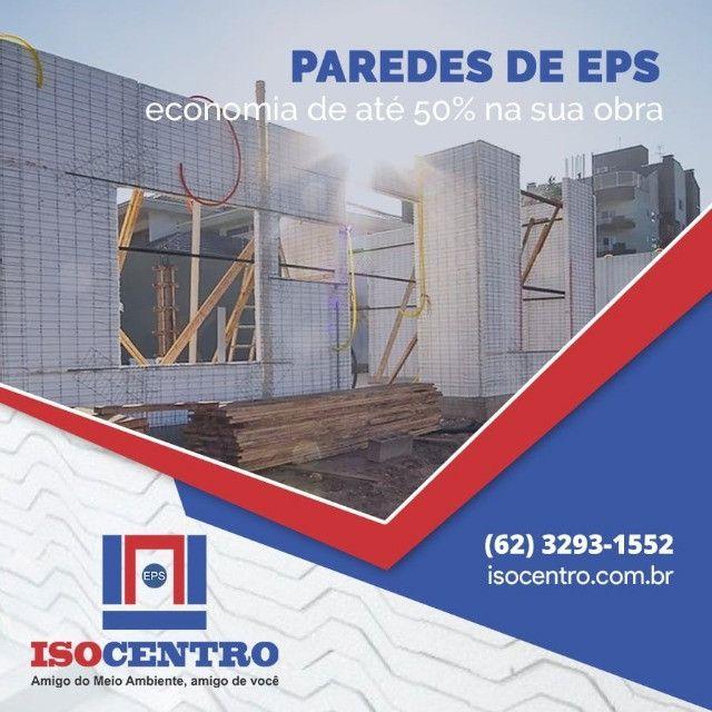 A parede de EPS (isopor) - Isocentro
