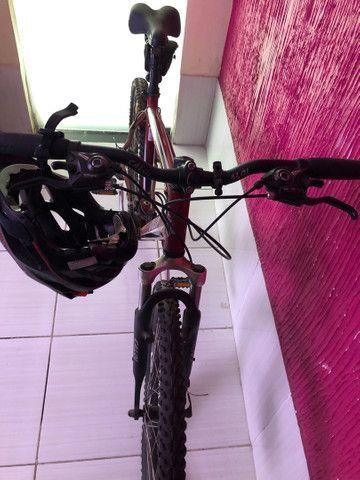 Bicicleta Caloi Supra Freio A Disco - Foto 6