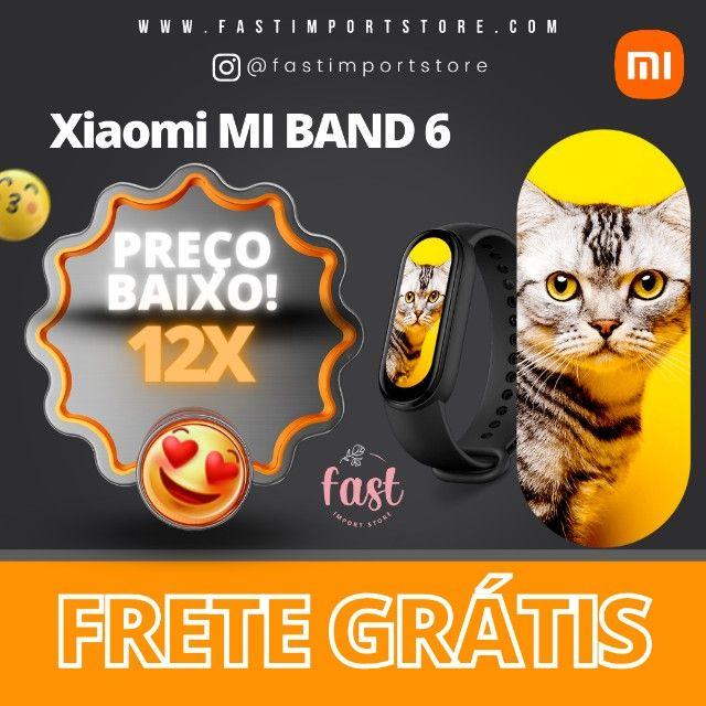 Xiaomi Mi Band 6 + 1 Pulseira Extra + 2 Peliculas