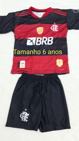 Camisa Flamengo infantil 6 e 12anos  - Foto 3