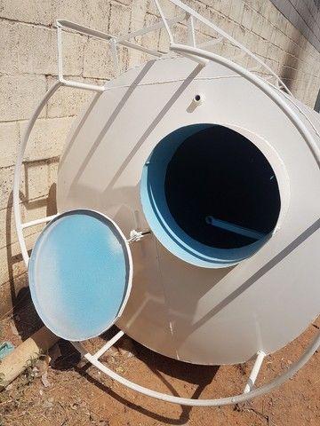 Caixa d'água modelo Taça Torre seca de 3 mil litros  - Foto 4
