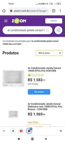 Ar-condicionado de janela novo(na caixa)
