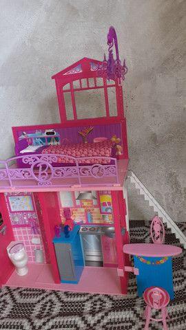 Casa da barbie (grande e pode levar para qualquer lugar!) - Foto 5