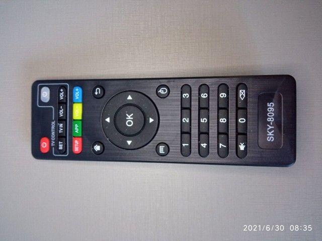 Controle remoto para tv box