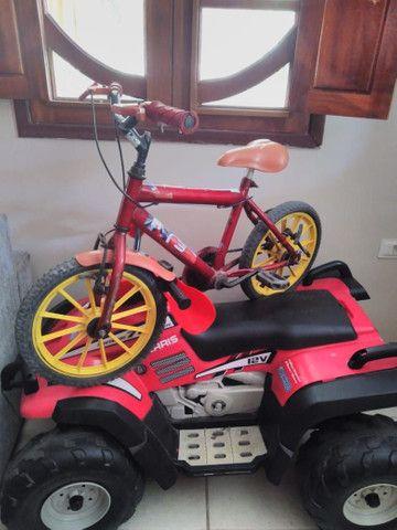 Bicicleta e moto infantil  - Foto 2